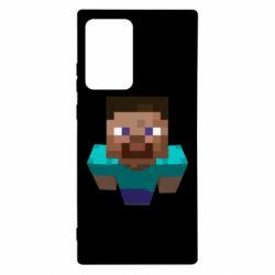 Чехол для Samsung Note 20 Ultra Steve from Minecraft