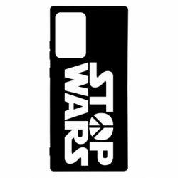 Чехол для Samsung Note 20 Ultra Stop Wars peace