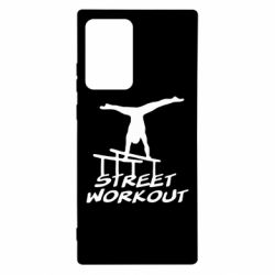 Чохол для Samsung Note 20 Ultra Street workout