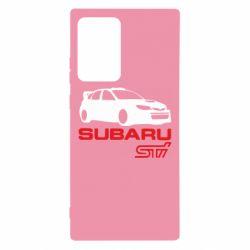 Чехол для Samsung Note 20 Ultra Subaru STI
