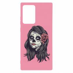 Чохол для Samsung Note 20 Ultra Sugar girl with a rose
