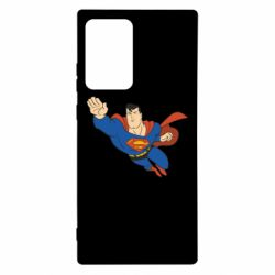 Чехол для Samsung Note 20 Ultra Superman mult