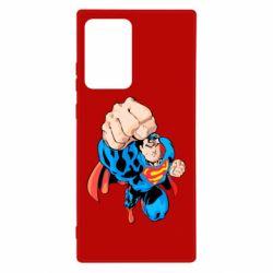 Чохол для Samsung Note 20 Ultra Супермен Комікс