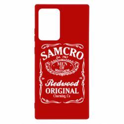Чехол для Samsung Note 20 Ultra Сыны Анархии Samcro