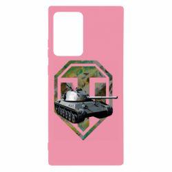 Чехол для Samsung Note 20 Ultra Tank and WOT game logo