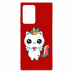 Чохол для Samsung Note 20 Ultra The cat is unicorn
