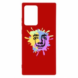 Чохол для Samsung Note 20 Ultra The face of Salvador Dali on the edge