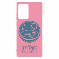 Чехол для Samsung Note 20 Ultra The flat earth society