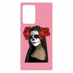 Чохол для Samsung Note 20 Ultra The girl in the image of the day of the dead