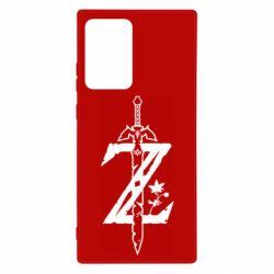 Чехол для Samsung Note 20 Ultra The Legend of Zelda Logo