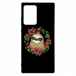 Чехол для Samsung Note 20 Ultra The slothful in flowers