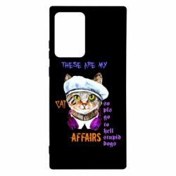 Чехол для Samsung Note 20 Ultra These are my cat affairs