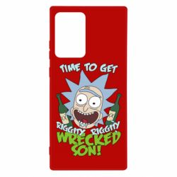 Чехол для Samsung Note 20 Ultra Time to get riggity wrecked son