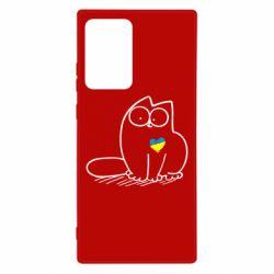Чехол для Samsung Note 20 Ultra Типовий український кіт