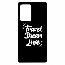 Чехол для Samsung Note 20 Ultra Travel Dream Live