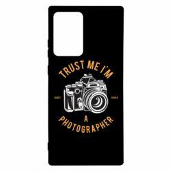Чохол для Samsung Note 20 Ultra Trust me i'm photographer
