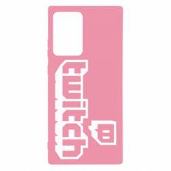 Чохол для Samsung Note 20 Ultra Twitch logotip