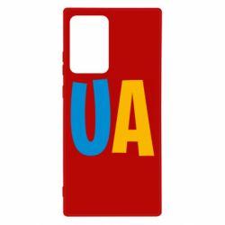 Чехол для Samsung Note 20 Ultra UA Blue and yellow