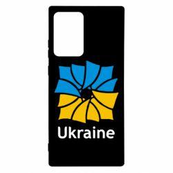 Чехол для Samsung Note 20 Ultra Ukraine квадратний прапор