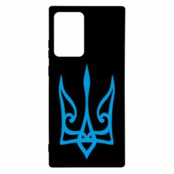Чохол для Samsung Note 20 Ultra Ukrainian trident with contour