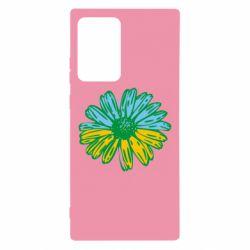 Чехол для Samsung Note 20 Ultra Українська квітка