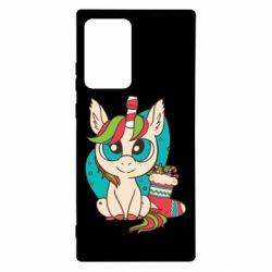 Чехол для Samsung Note 20 Ultra Unicorn Christmas