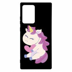 Чехол для Samsung Note 20 Ultra Unicorn with love