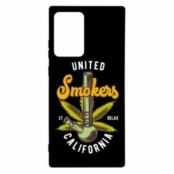 Чохол для Samsung Note 20 Ultra United smokers st relax California