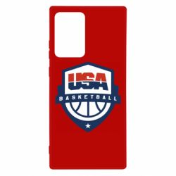 Чехол для Samsung Note 20 Ultra USA basketball