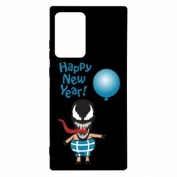 Чохол для Samsung Note 20 Ultra Venom pig with a ball wishes a happy new year