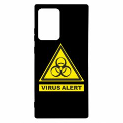 Чехол для Samsung Note 20 Ultra Warning Virus alers