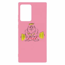 Чехол для Samsung Note 20 Ultra Weightlifter caricature