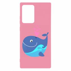 Чохол для Samsung Note 20 Ultra Whale with smile