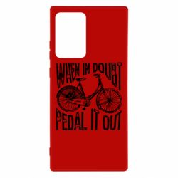 Чохол для Samsung Note 20 Ultra When in doubt pedal it out