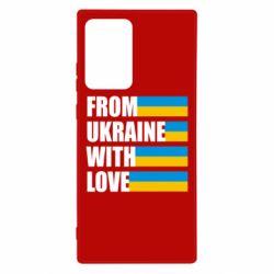 Чохол для Samsung Note 20 Ultra With love from Ukraine