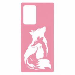 Чехол для Samsung Note 20 Ultra Wolf And Fox