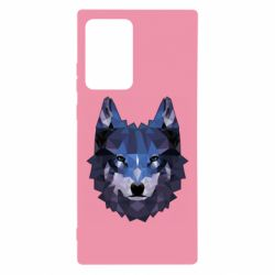 Чохол для Samsung Note 20 Ultra Wolf geometric