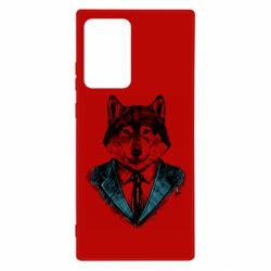 Чехол для Samsung Note 20 Ultra Wolf in costume