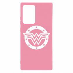 Чехол для Samsung Note 20 Ultra Wonder woman logo and stars
