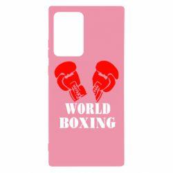 Чехол для Samsung Note 20 Ultra World Boxing