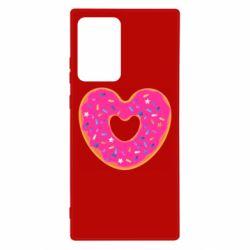 Чехол для Samsung Note 20 Ultra Я люблю пончик