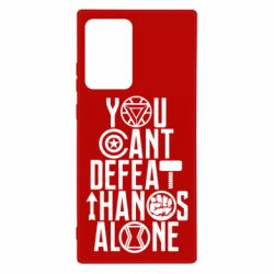 Чехол для Samsung Note 20 Ultra You can't defeat thanos alone