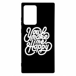 Чохол для Samsung Note 20 Ultra You make me happy