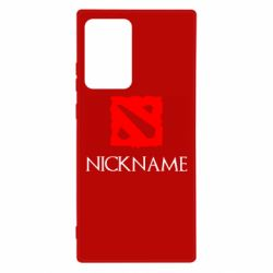 Чохол для Samsung Note 20 Ultra Your nickname Dota2