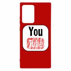 Чохол для Samsung Note 20 Ultra YouTube