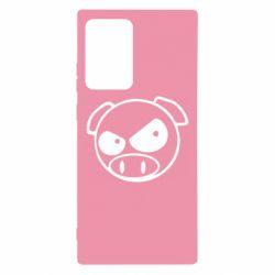 Чехол для Samsung Note 20 Ultra Злая свинка