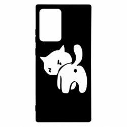 Чехол для Samsung Note 20 Ultra злой котэ