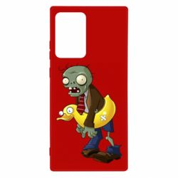 Чехол для Samsung Note 20 Ultra Zombie with a duck