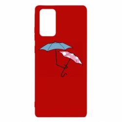 Чехол для Samsung Note 20 Umbrella love Color