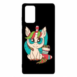 Чехол для Samsung Note 20 Unicorn Christmas